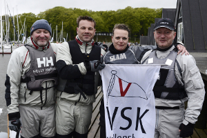Sejlsportsligaen 2015 VallensbaekSejlklub hold_reduceret